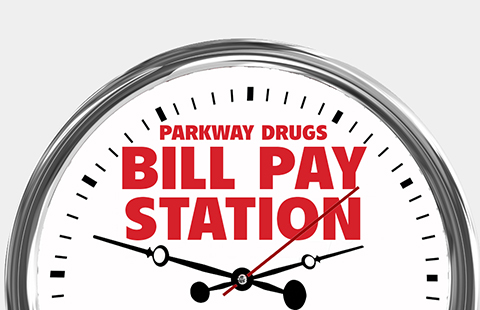 Parkway Drugs Bill Pay Station