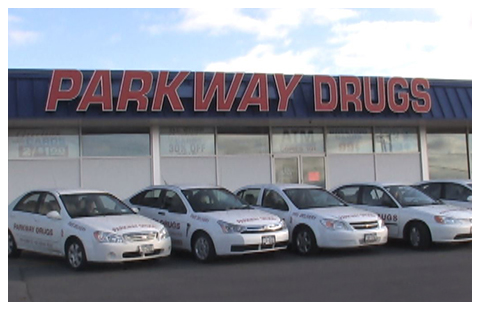 Parkway Drugs Free Delivery